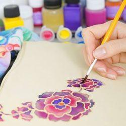 Мастер-класс по росписи на ткани