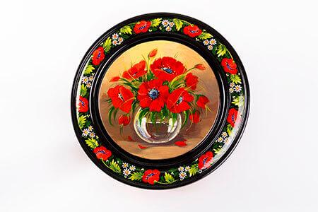 тарелка с росписью в Днепре