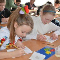 Мастер-класс по Петриковской росписи для учеников КСО СОШ № 87